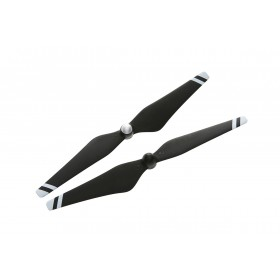 DJI 9450 Carbon Fiber Reinforced Self Tightening Propellers Composite Hub Black With White Stripes
