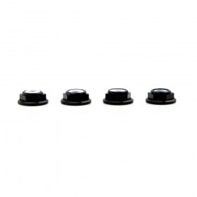 Lumenier M5 Black Aluminum Low Profile Lock Nut Set Of 4 CW