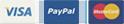 Visa Paypal Amex Master Card